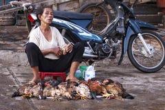 Рынок в Ханое Стоковые Фотографии RF