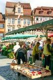 Рынок в Donaworth стоковые фотографии rf