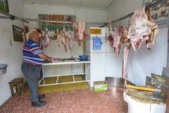 Рынок в Silvia, Колумбии Стоковая Фотография RF