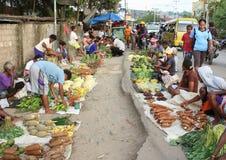 Рынок в Sorong стоковое фото