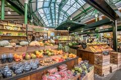 Рынок города в Лондоне, Великобритании Стоковые Изображения