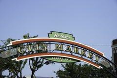Рынок города в Kansas City Стоковое Изображение