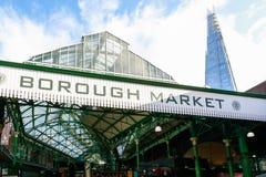 Рынок города в Лондоне Стоковое Изображение
