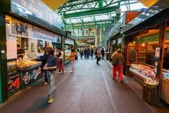 Рынок города в Southwark, центральном Лондоне, Великобритании Стоковые Фотографии RF