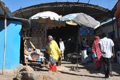 Рынок города Hargeysa. Стоковое Изображение RF