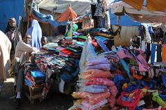 Рынок города Hargeysa. Стоковые Изображения RF