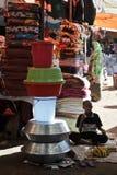 Рынок города Hargeysa. Стоковое Фото