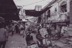 Рынок Джодхпура в Раджастхане, Индии Стоковое Изображение