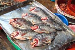 Рынок еды Таиланда традиционный Стоковое Изображение