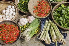 рынок еды Стоковое Изображение