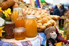 Рынок еды Стоковая Фотография RF