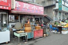 Рынок еды Стоковые Изображения RF