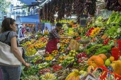 Рынок еды St Иосиф - Барселона - Испания. Стоковое Изображение RF