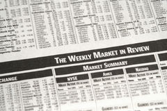 рынок еженедельный Стоковые Изображения RF