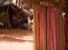 Рынок 1 деревни племени Стоковая Фотография