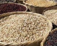 рынок зерна фасолей Стоковое фото RF