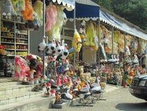 Рынок игрушек Стоковые Изображения