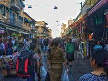 Рынок Иерусалима Стоковое Изображение