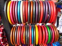 рынок индейца bangles Стоковая Фотография RF
