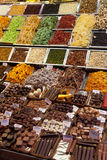рынок Испания la boqueria barcelona Стоковое Фото