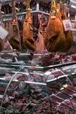 рынок Испания la boqueria barcelona Стоковые Фото