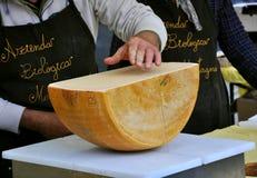рынок итальянки сыра Стоковое Фото