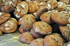 рынок итальянки хлеба Стоковые Фотографии RF