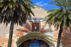 Рынок квадрата Клинтона, Key West, Флорида стоковое изображение