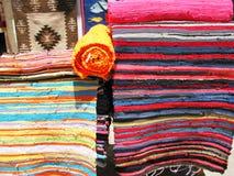 рынок ковров восточный Стоковые Изображения RF