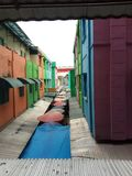 Рынок крыши традиционный стоковые изображения rf