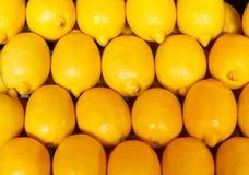 рынок лимонов Стоковые Фото
