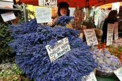 Рынок Лондон цветка дороги Колумбии, Великобритания Стоковые Изображения RF