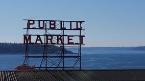 Рынок места Pike Стоковые Фотографии RF