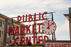 Рынок места Pike Стоковая Фотография