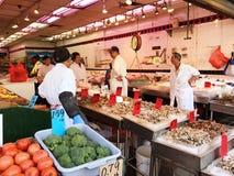 Рынок морепродуктов Нью-Йорка Стоковые Фото