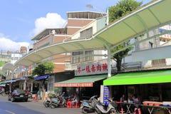 Рынок на gushan пристани парома Стоковые Изображения