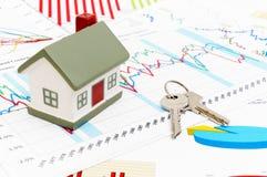 рынок недвижимости принципиальной схемы стоковое фото rf