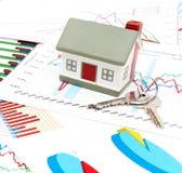рынок недвижимости принципиальной схемы Стоковая Фотография RF