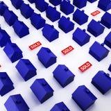 Рынок недвижимости Стоковое Фото