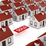 Рынок недвижимости Стоковая Фотография RF