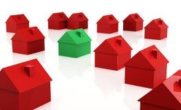 Рынок недвижимости Стоковые Фото