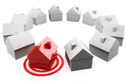 Рынок недвижимости Стоковое фото RF
