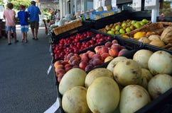Рынок Новая Зеландия фермеров Matakana Стоковое фото RF