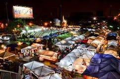 Рынок ночи в Таиланде Стоковое фото RF