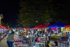Рынок ночи в Luang Prabang Стоковая Фотография RF