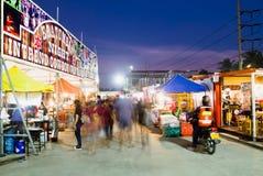 Рынок ночи стоковая фотография