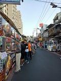 Рынок ночи стоковые фото