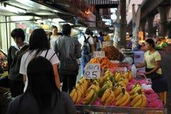 Рынок ночи Стоковое Изображение
