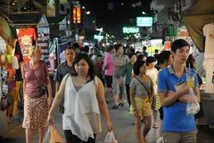 Рынок ночи стоковое фото rf