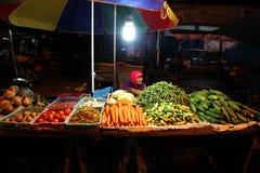Рынок ночи стоковые изображения rf
